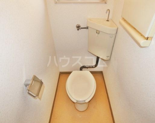 VANハイム 201号室のトイレ