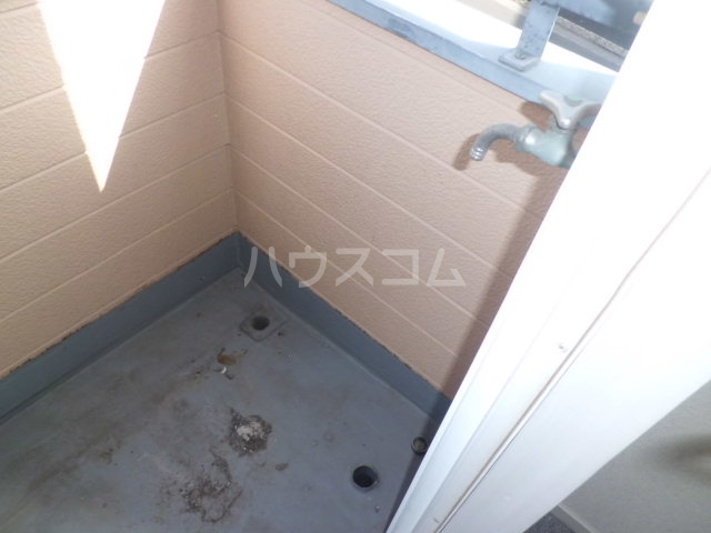 K・柴又 203号室のバルコニー