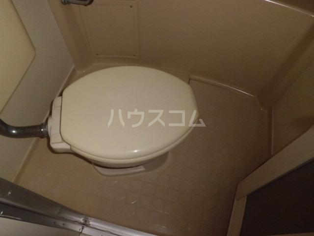 K・柴又 203号室のトイレ