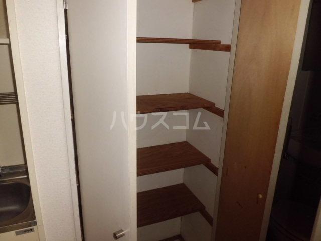 K・柴又 203号室の収納
