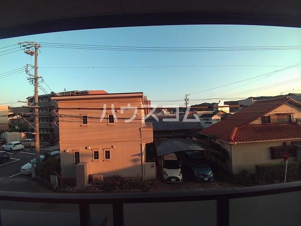 アンフィニ幸田 4D号室の景色