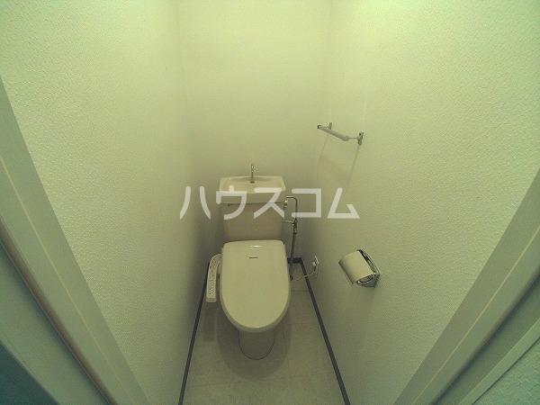 アンフィニ幸田 4D号室のトイレ