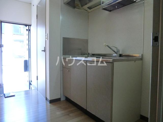 レネット桜台 201号室のキッチン