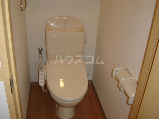 ヴェスパー 203号室のトイレ