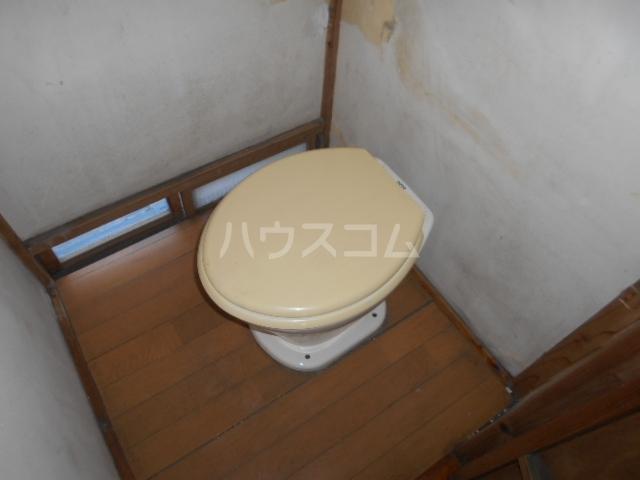 長山アパートのトイレ