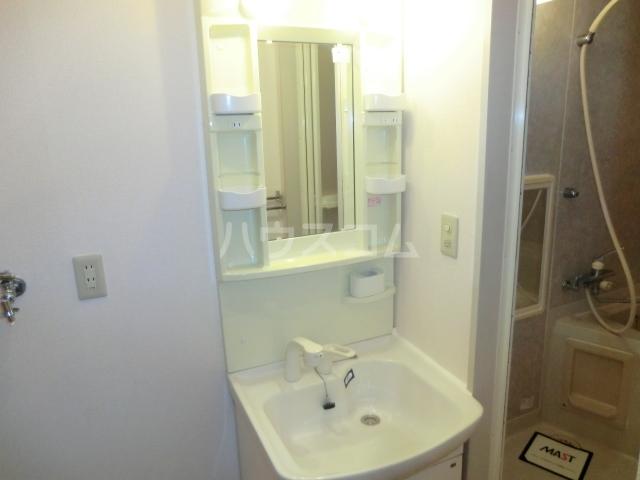 ロジュマンイズミF、G棟 G201号室の洗面所