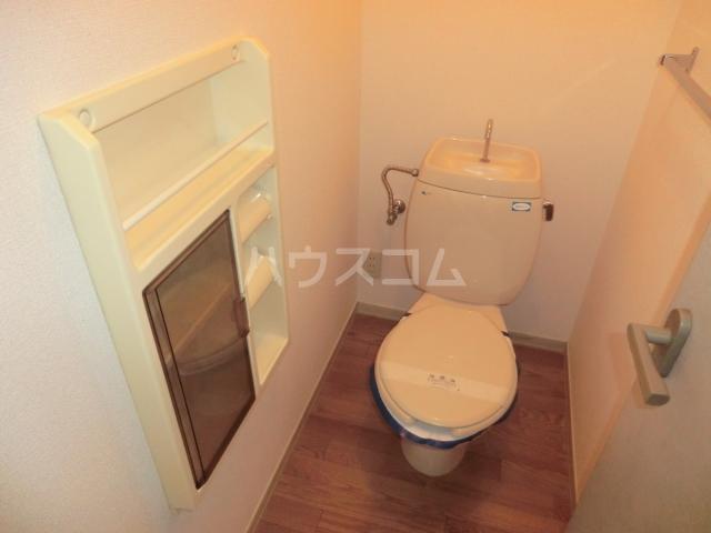 ロジュマンイズミF、G棟 G201号室のトイレ