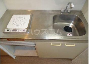豊栄アンバサダー調布 506号室のキッチン