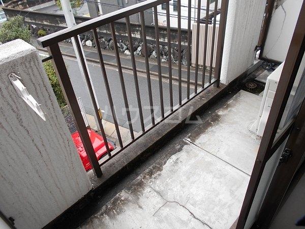 第2住吉ハイツ 20B号室のバルコニー