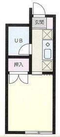 メゾン香川・103号室の間取り