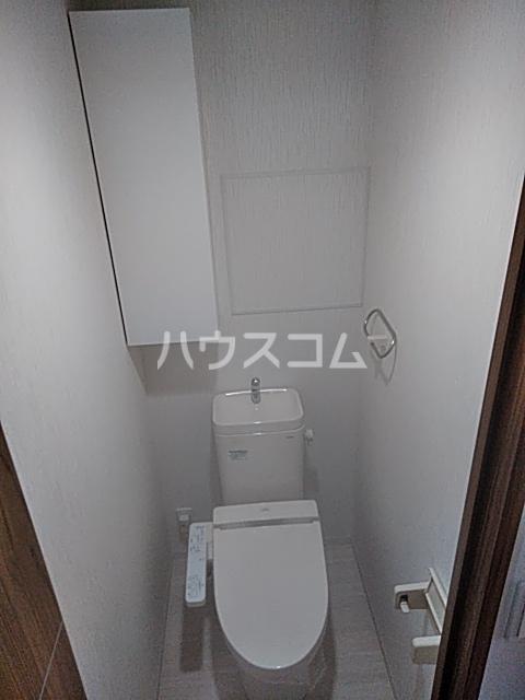 アイ・ウエスト高宮 102号室のトイレ