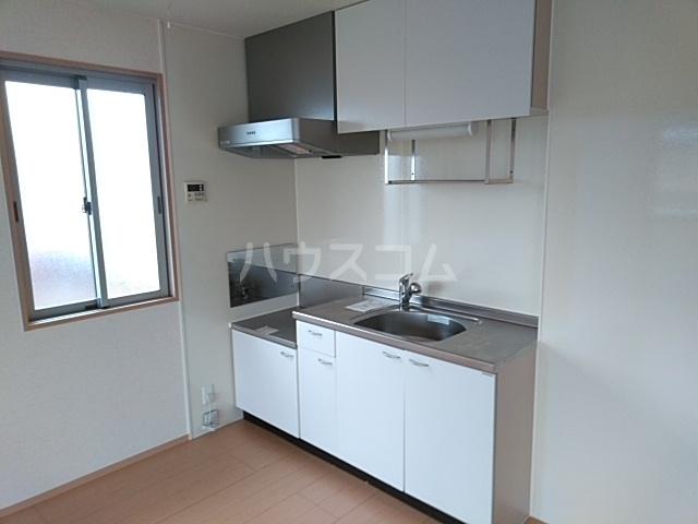 ルーチェ 203号室のキッチン