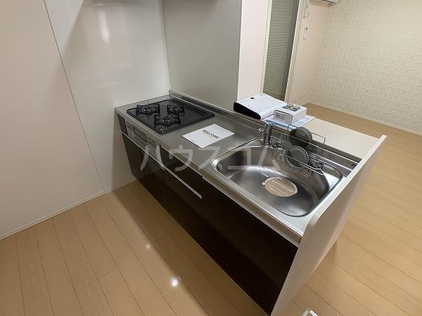 ロイヤルハイツ羽根東 101号室のキッチン
