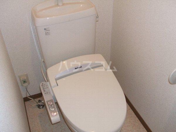 プランドール葉室B棟 101号室のトイレ