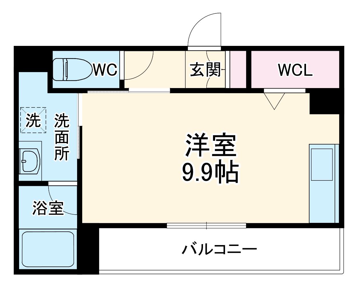 TANA TOEI・202号室の間取り