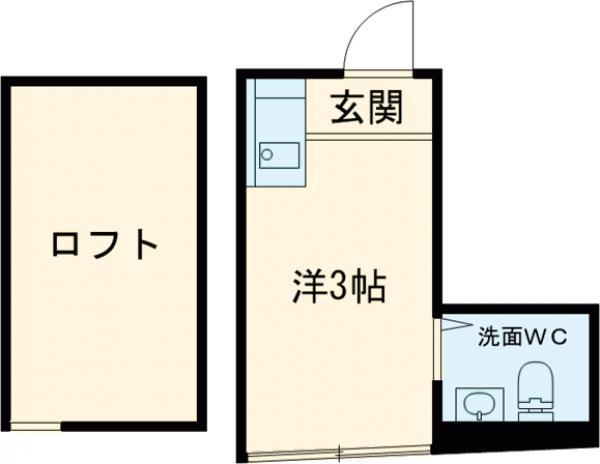 AQUAレジデンス中井 207号室の間取り