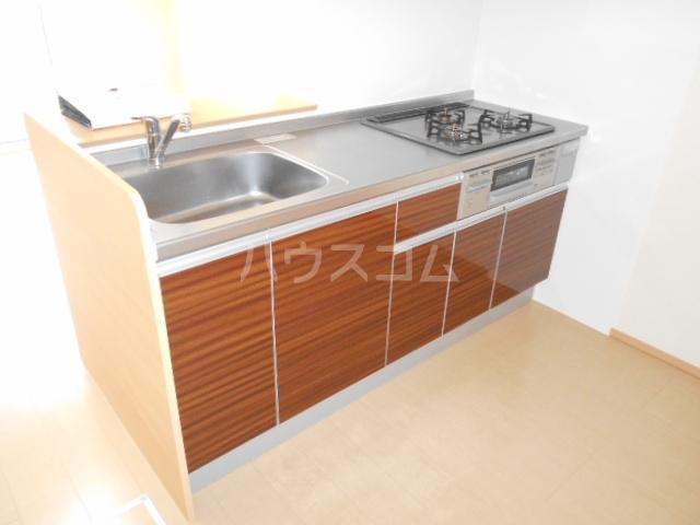 CasaⅢ 101号室のキッチン