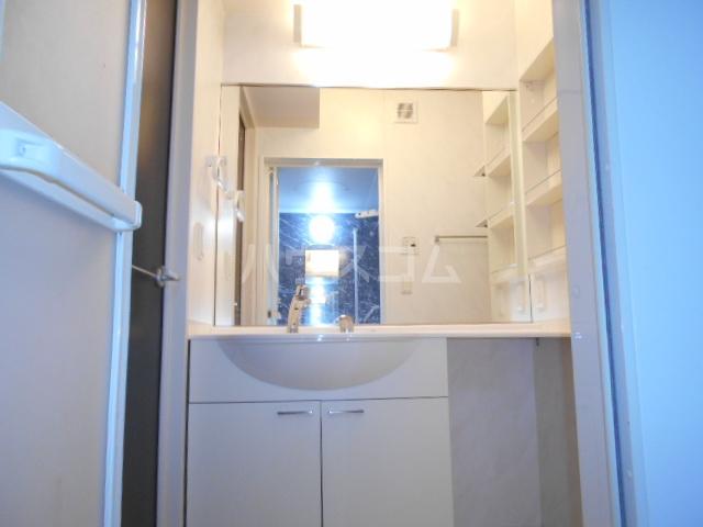 CasaⅢ 101号室の洗面所
