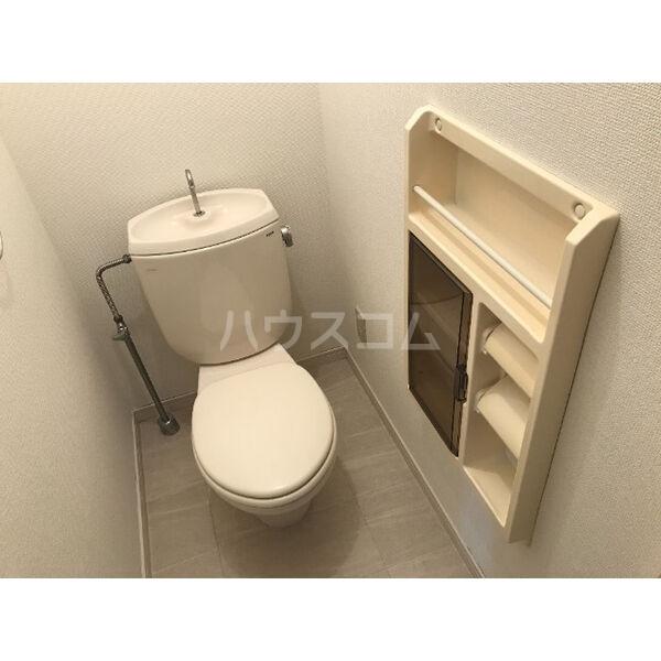 ディアス晴丘 A102号室のトイレ