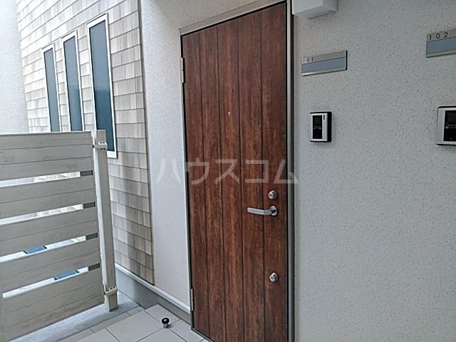 タウンライツ尾山台 101号室の玄関