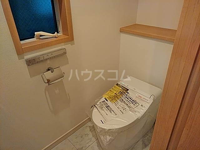 タウンライツ尾山台 101号室のトイレ