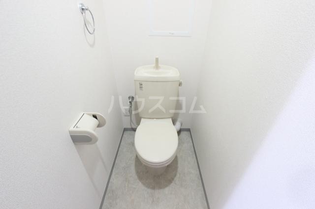 アベリア 203号室のトイレ