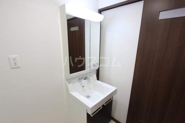 アベリア 203号室の洗面所