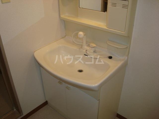 エクレール 305号室の洗面所