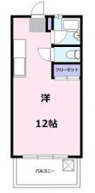 くにアパート・303号室の間取り