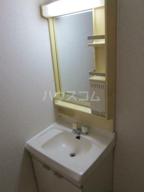 藤ビル 504号室の洗面所