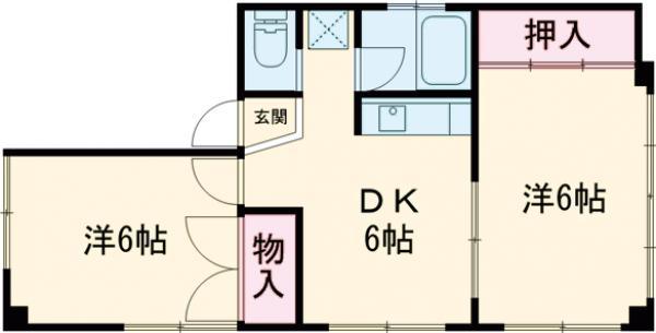 湯島明成ビル 3F号室の間取り