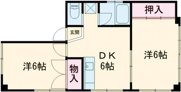 湯島明成ビル 4F号室の間取り