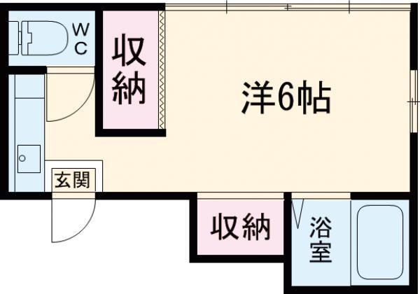 湯島明成ビル 5F号室の間取り