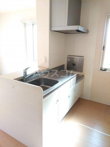 ヴァレンティーナ D 103号室のキッチン