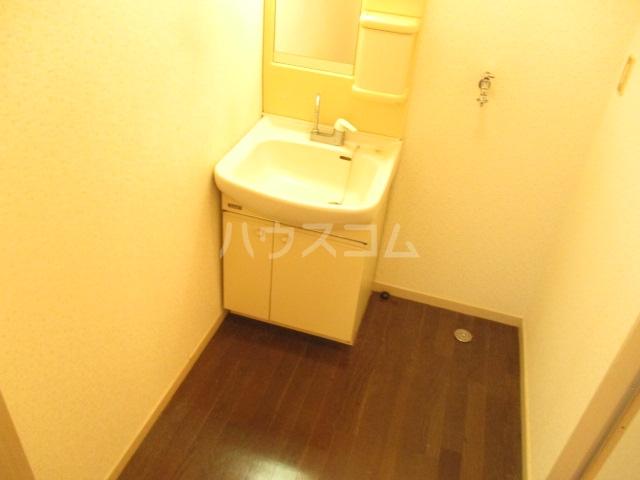 ハイツ中根 206号室の洗面所