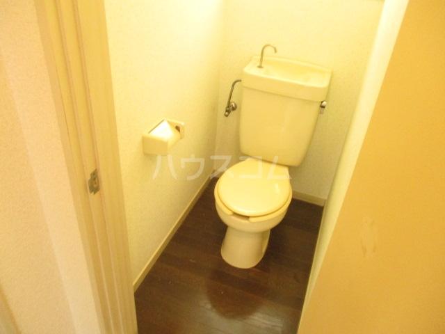 ハイツ中根 206号室のトイレ