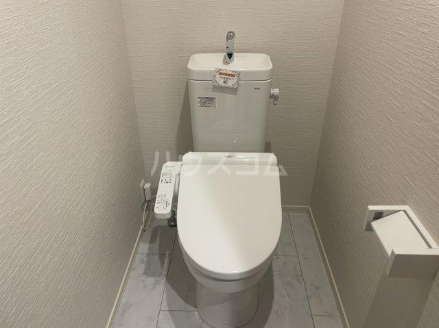 ルシェルブルー 101号室のトイレ