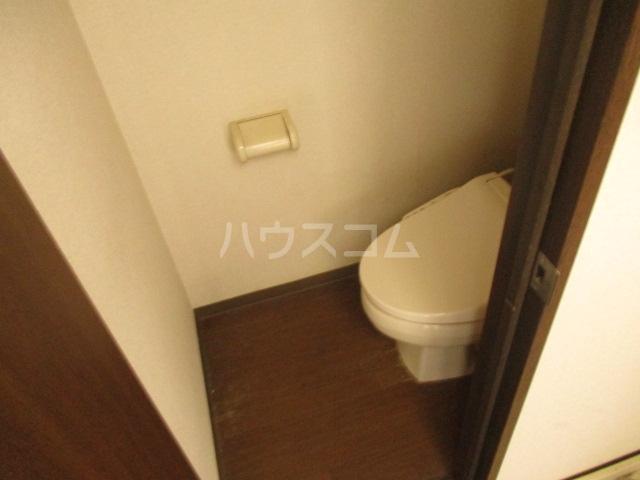 ベルエポック 202号室のトイレ