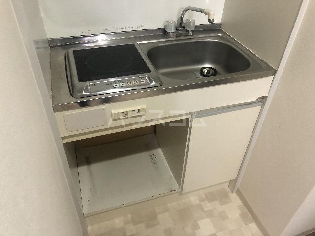 シティハイツ壱番館 102号室のキッチン