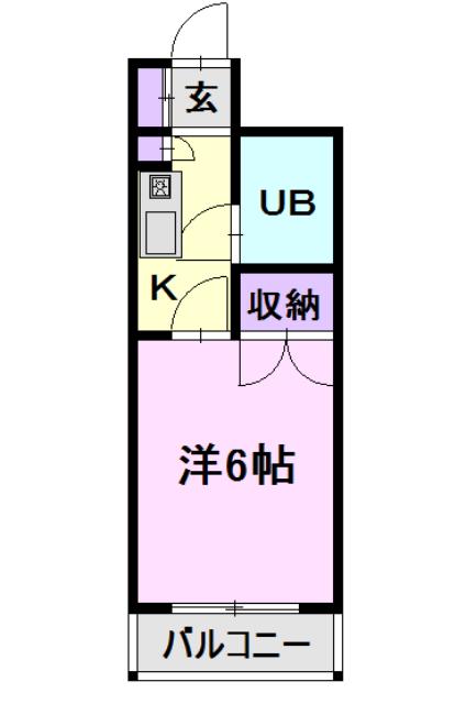 CASA NOAH 名古屋Ⅲ・412号室の間取り
