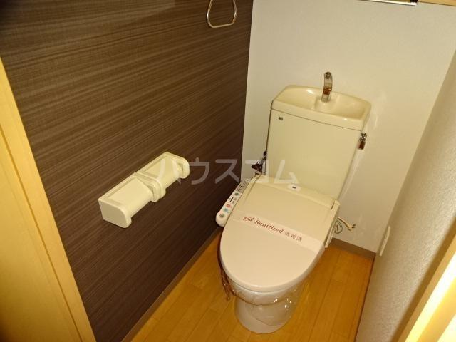 エクセレンスアイディ 208号室のトイレ