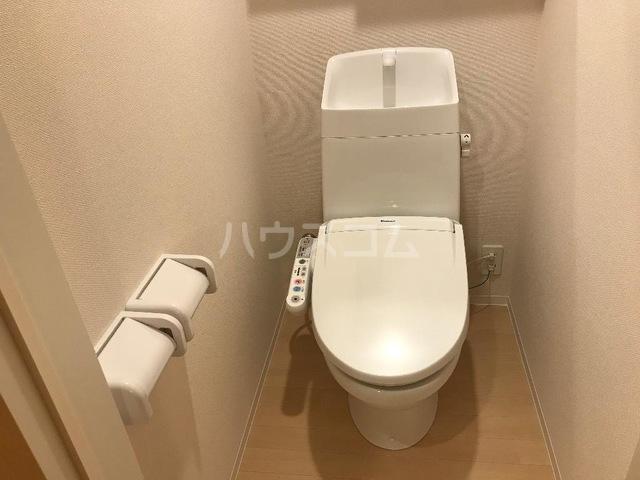ルミナス スカイ 201号室のトイレ