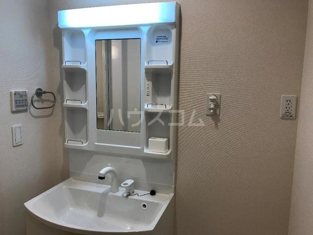 ルミナス スカイ 201号室の洗面所