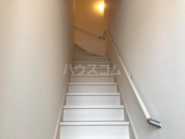 ルミナス スカイ 201号室の玄関