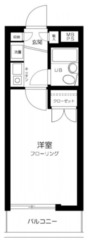 日神パレステージ上石神井第2・205号室の間取り