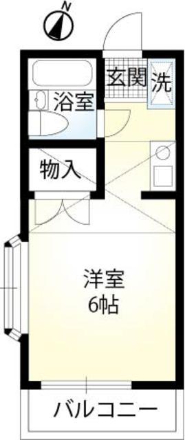 SG TOTUKA・202号室の間取り