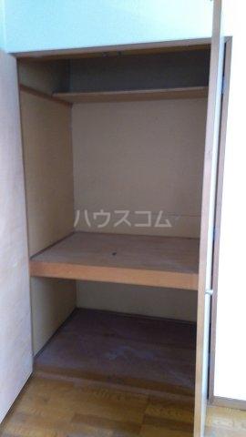 エンゼル東川口 205号室の収納