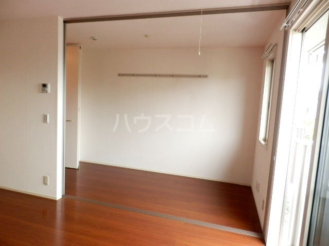 プルメリア 103号室のベッドルーム