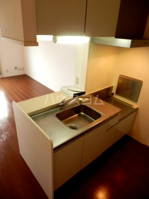 プルメリア 103号室のキッチン