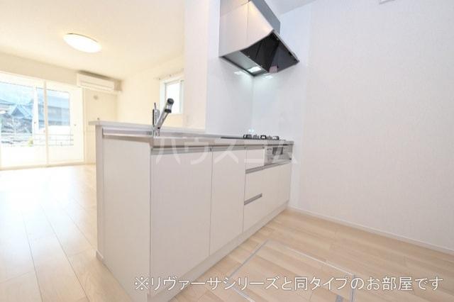 プルメリア イースト D 01010号室のキッチン